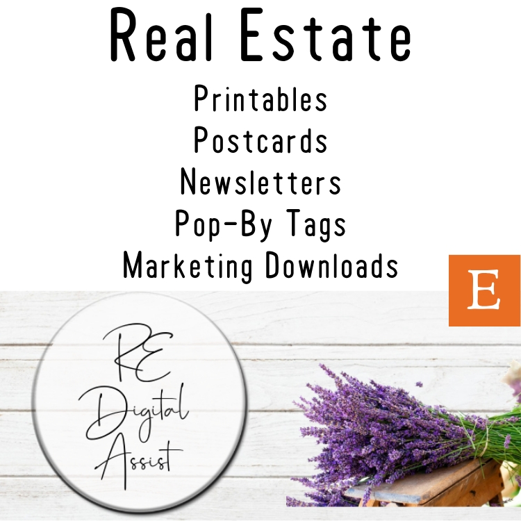 Real Estate Marketing Printables