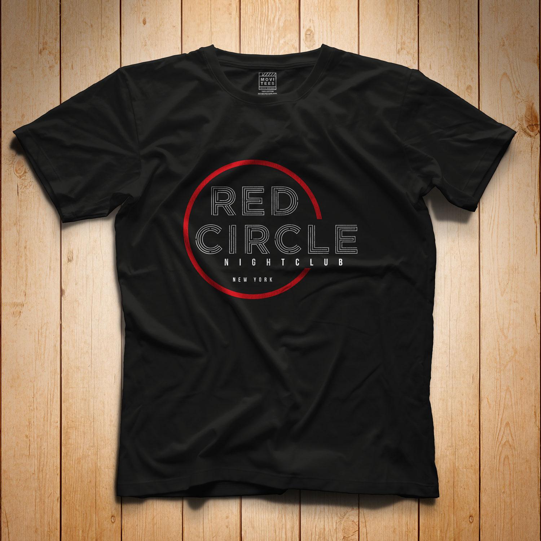 Red Circle Nightclub T Shirt Inspired