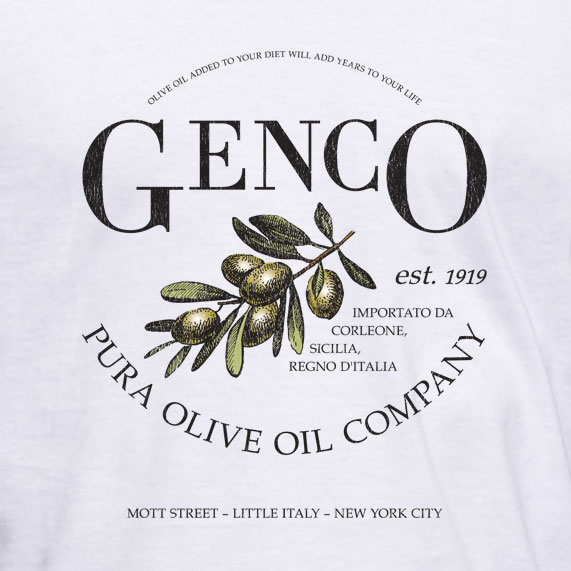 Louis Restaurant T-Shirt Food Genco Pura Olive Oil Satriales Store Bing D268