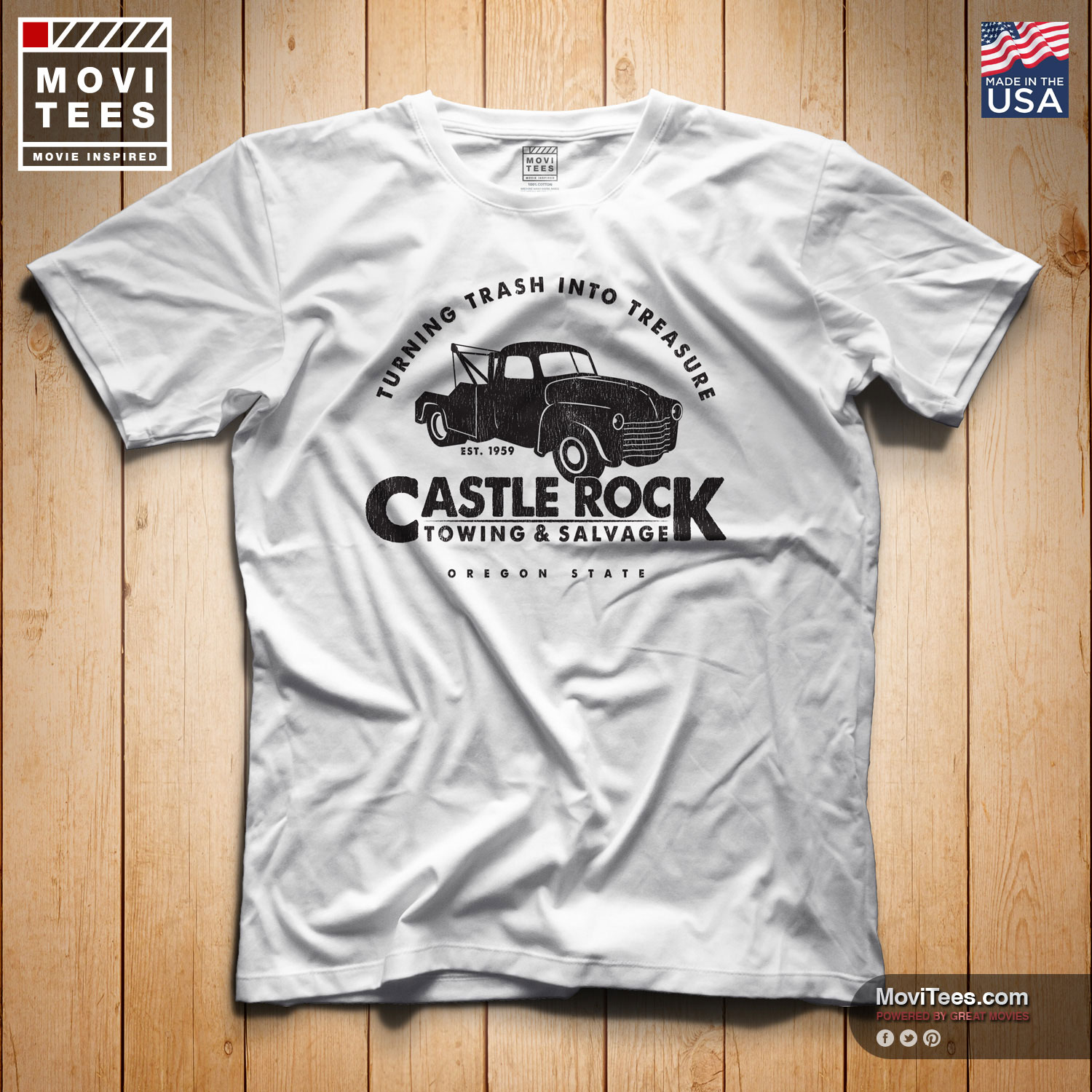 Castle Rock Towing & Salvage T-Shirt