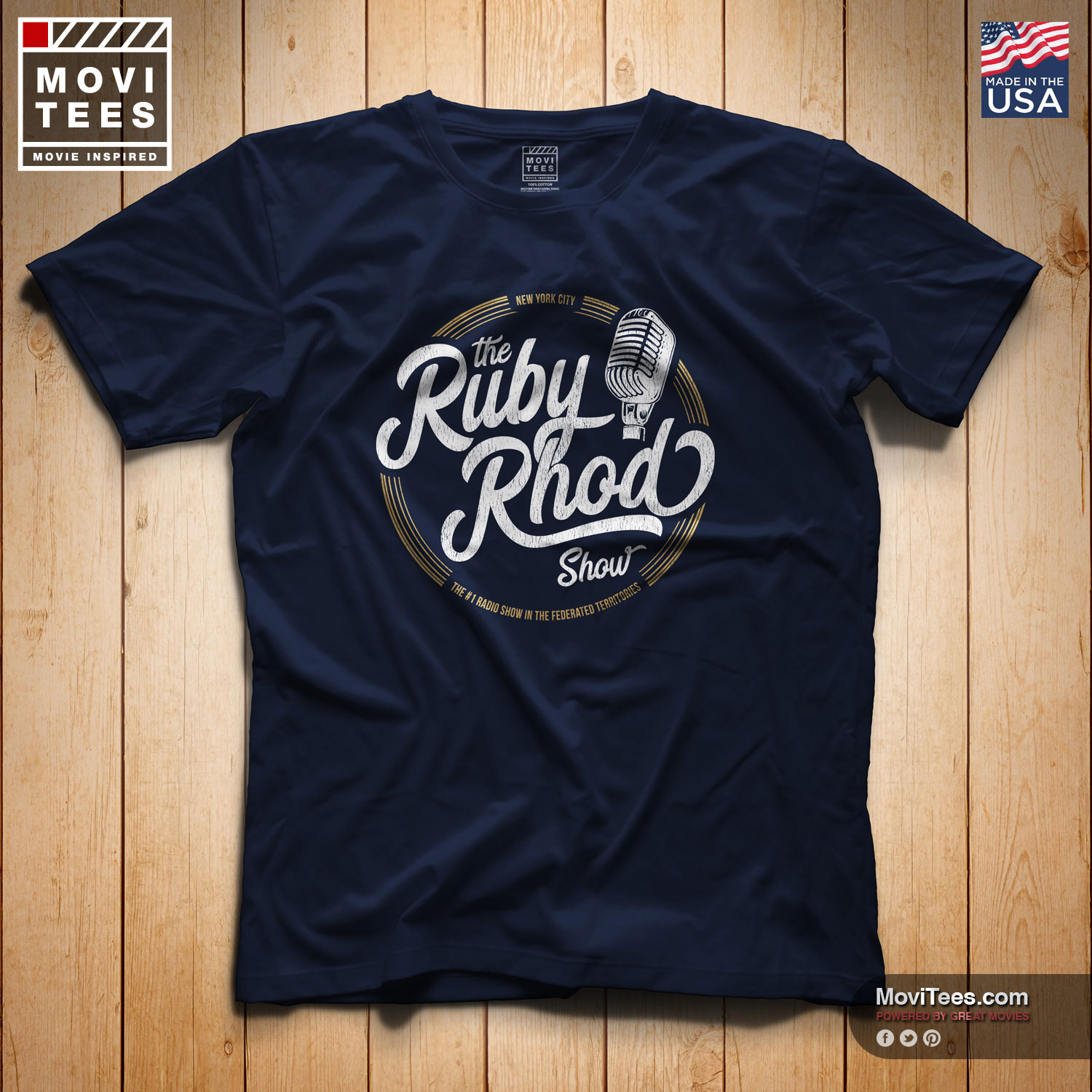 The Ruby Rhod Show T-Shirt