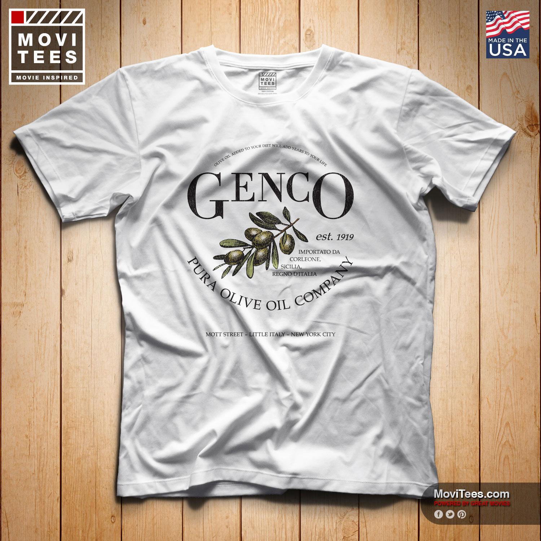 Genco Pura Olive Oil Co T-Shirt