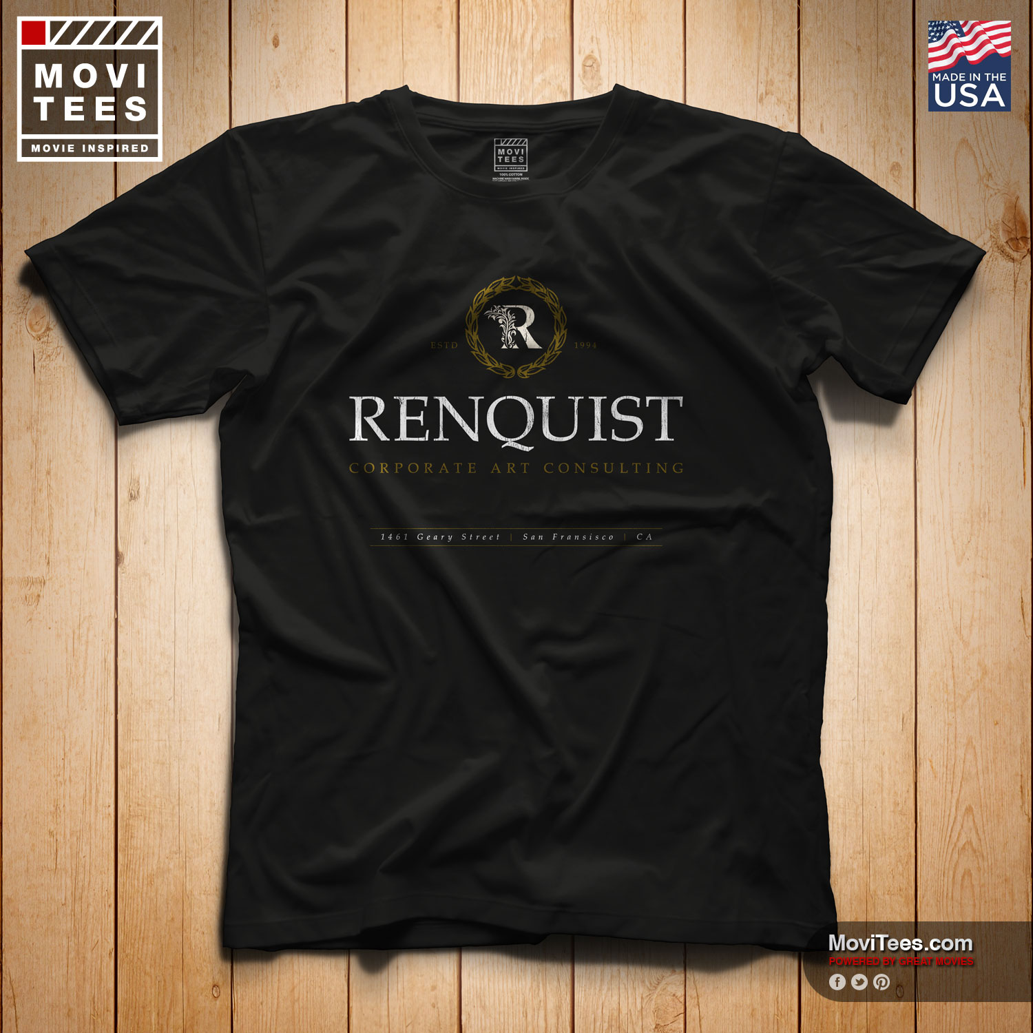 Renquist Corporate Art Consulting T-Shirt