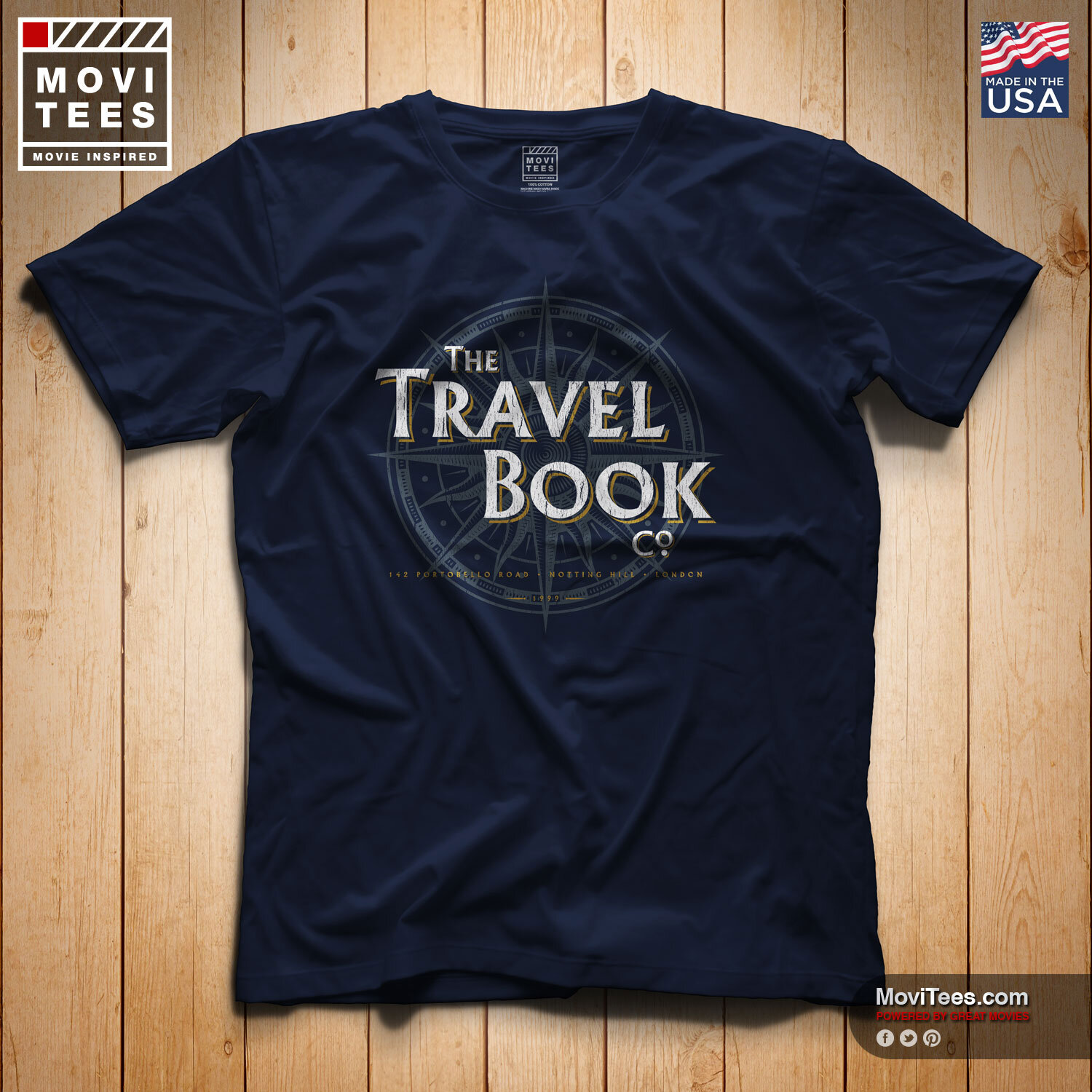 The Travel Book Co T-Shirt