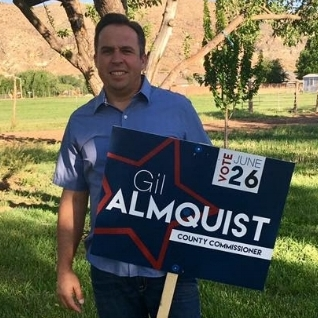 Victor Iverson - Gil Almquistis hard working self-employed business owner who has spent his whole life making Washington County better as landscape contractor, father, friend and community leader. Please, join me in supporting Gil Almquist for Washington County Commissioner seat A.