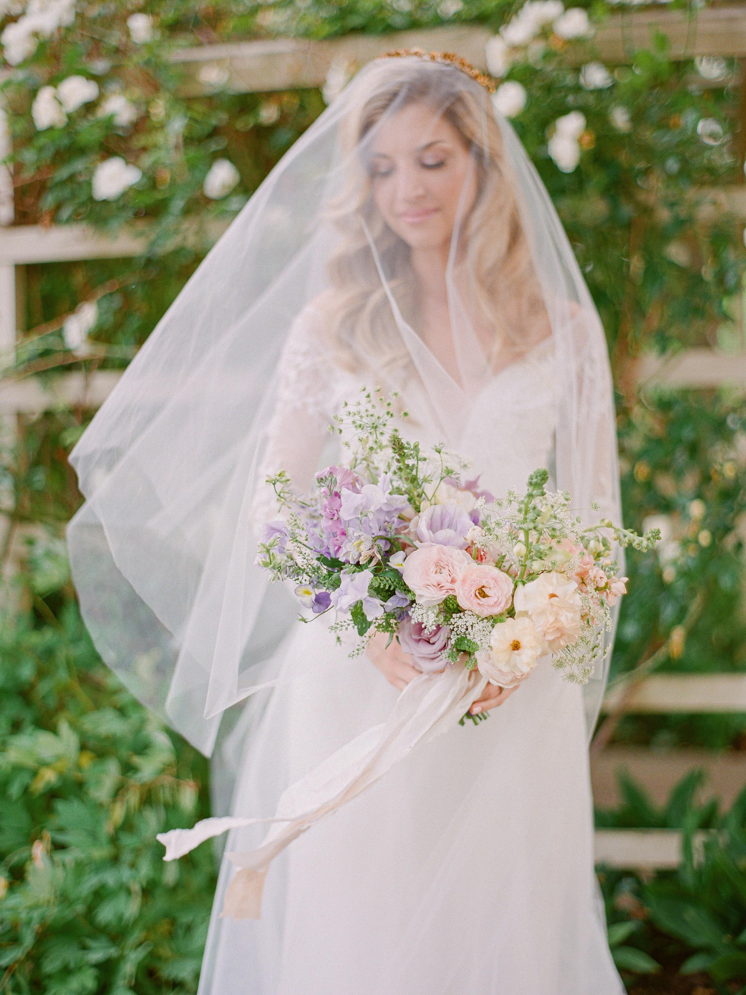 lavender ombre bouquet