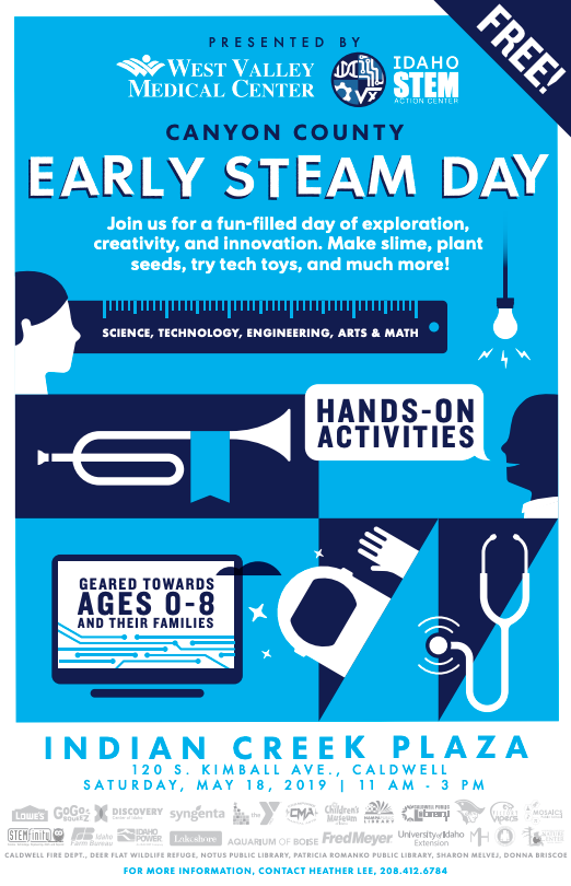 Canyon County Early STEAM Day — Indian Creek Plaza