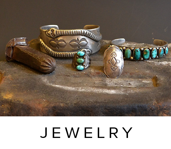 Vintage Authentic, Hand-Crafted Native American Navajo and Pueblo Jewelry & Northern New Mexican Antique Jewelry.