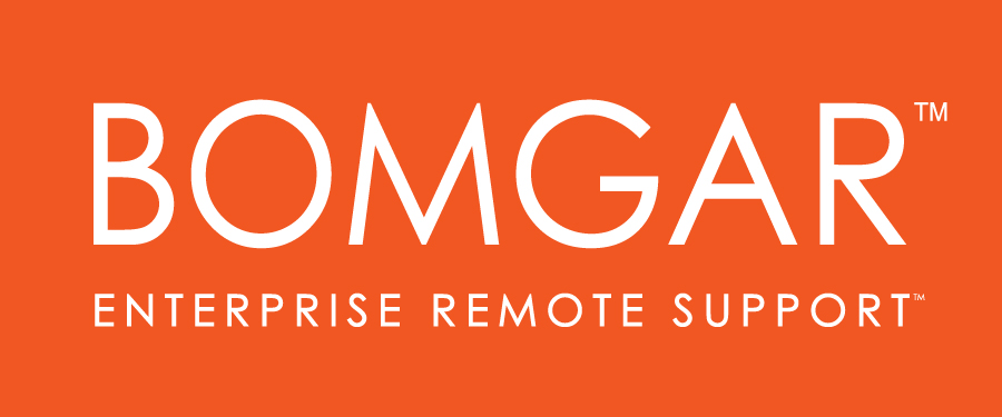 Access your remote technician - Please click the Bomgar Logo
