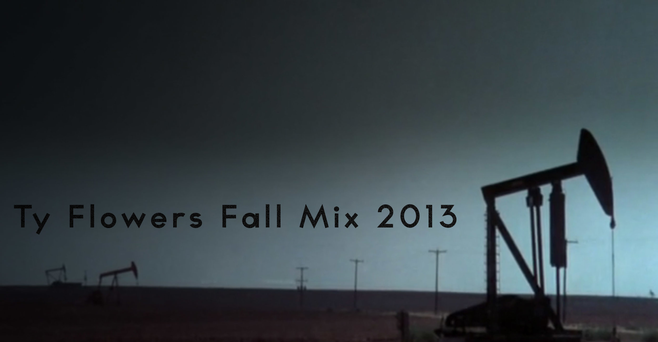 Ty Flowers Fall Mix 2013