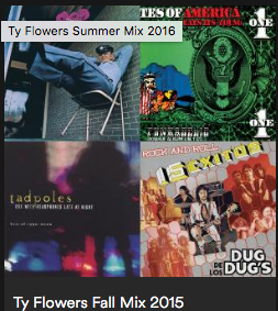 Ty Flowers Spring Mix 2015