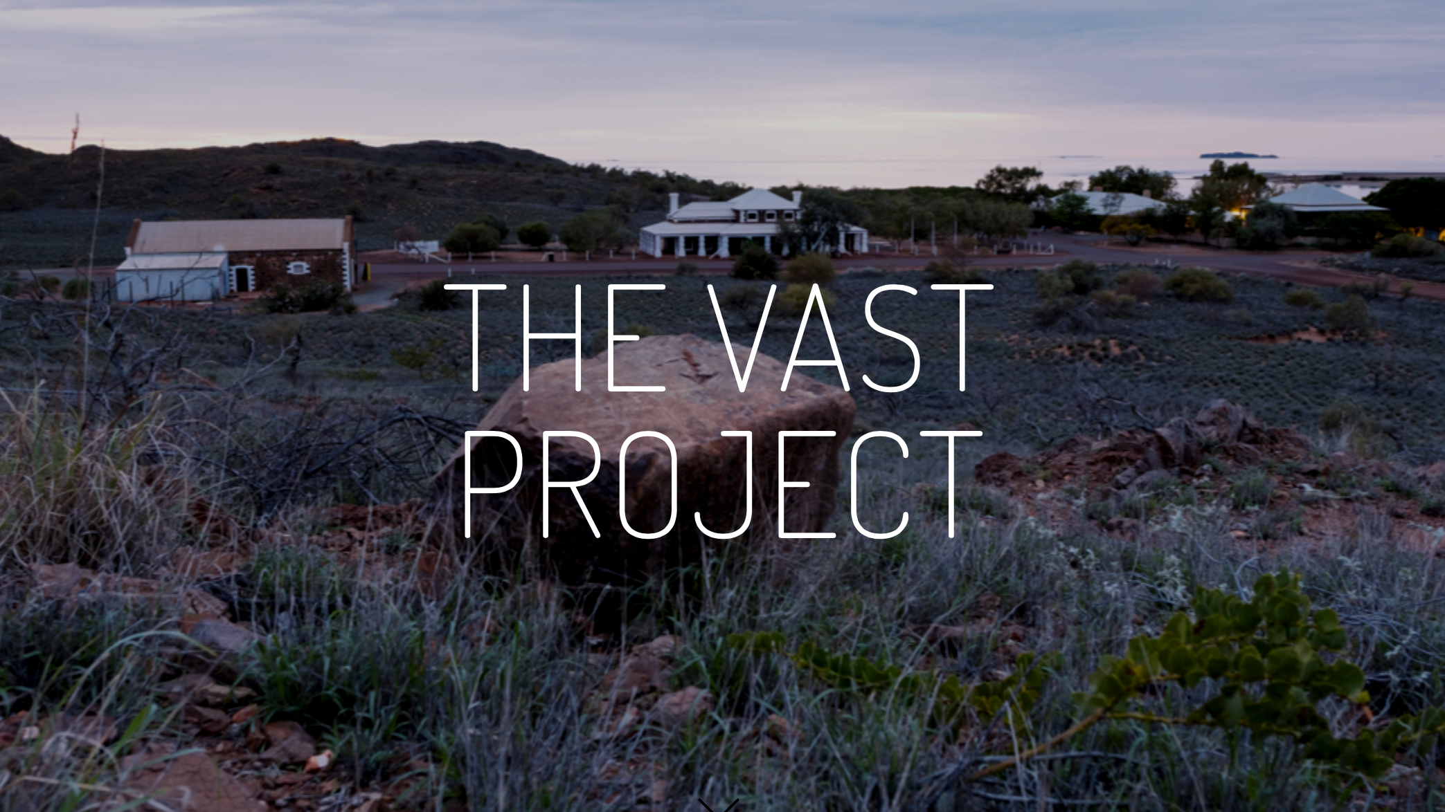 The Vast Project - Website