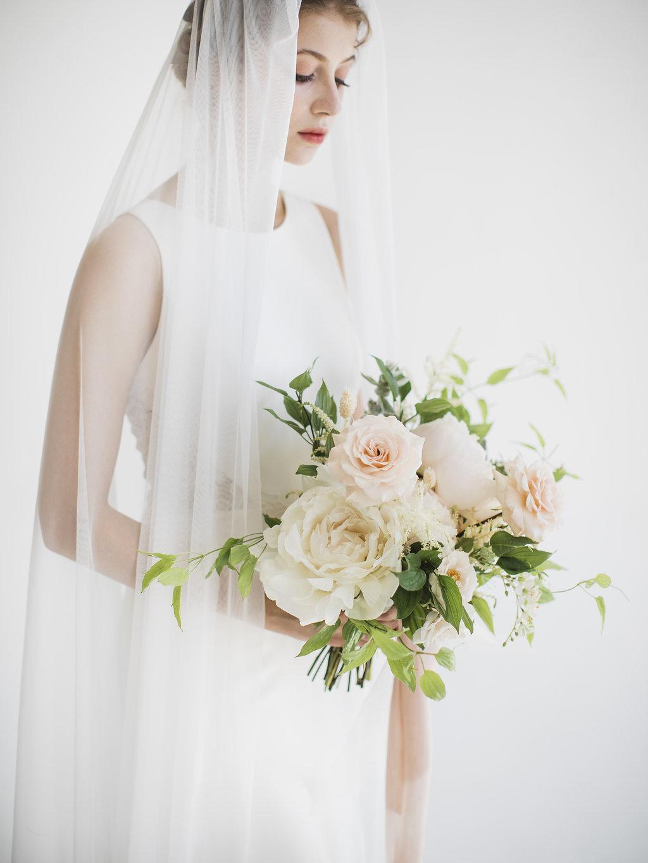 Wedding Bouquet_Cream and Blush