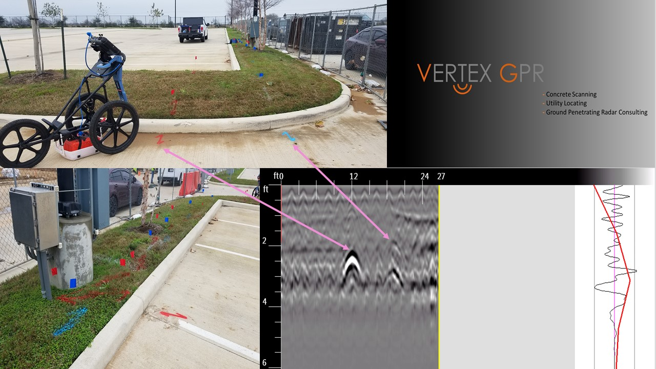 Concrete Scanning and Underground Utility Locating Projects — Vertex GPR