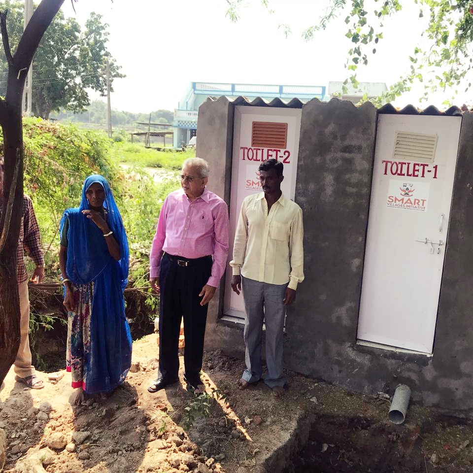 New toilets funded by Smart Villages Initiative