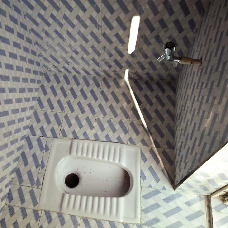 New toilets for Gabat Villagers