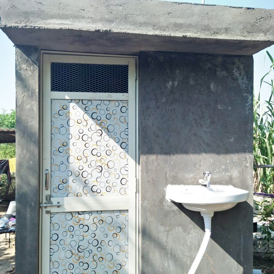 New Toilets for Villagers