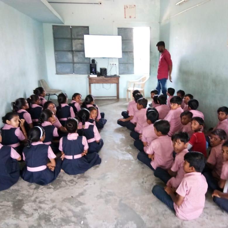 New school in Gabat Village