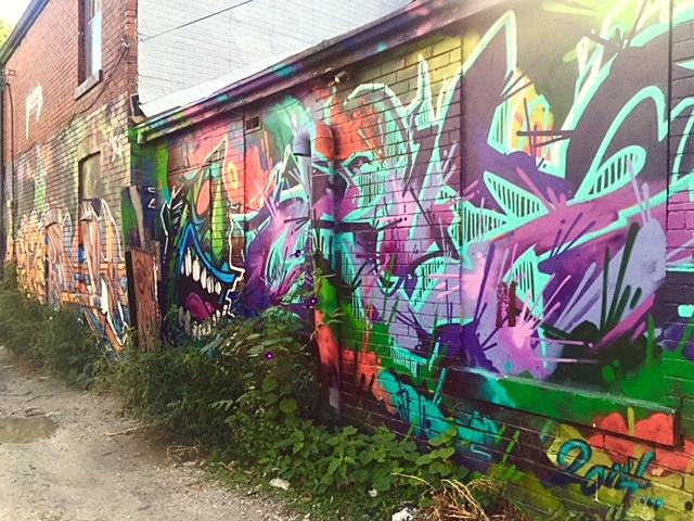 Graffiti Alley, Kensington Market, Toronto