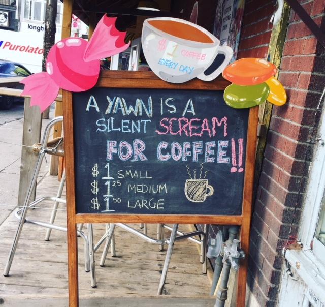 Kensington Market Coffee Shop   Toronto, ON   Emily Malkowski   Travel & Lifestyle Blogger