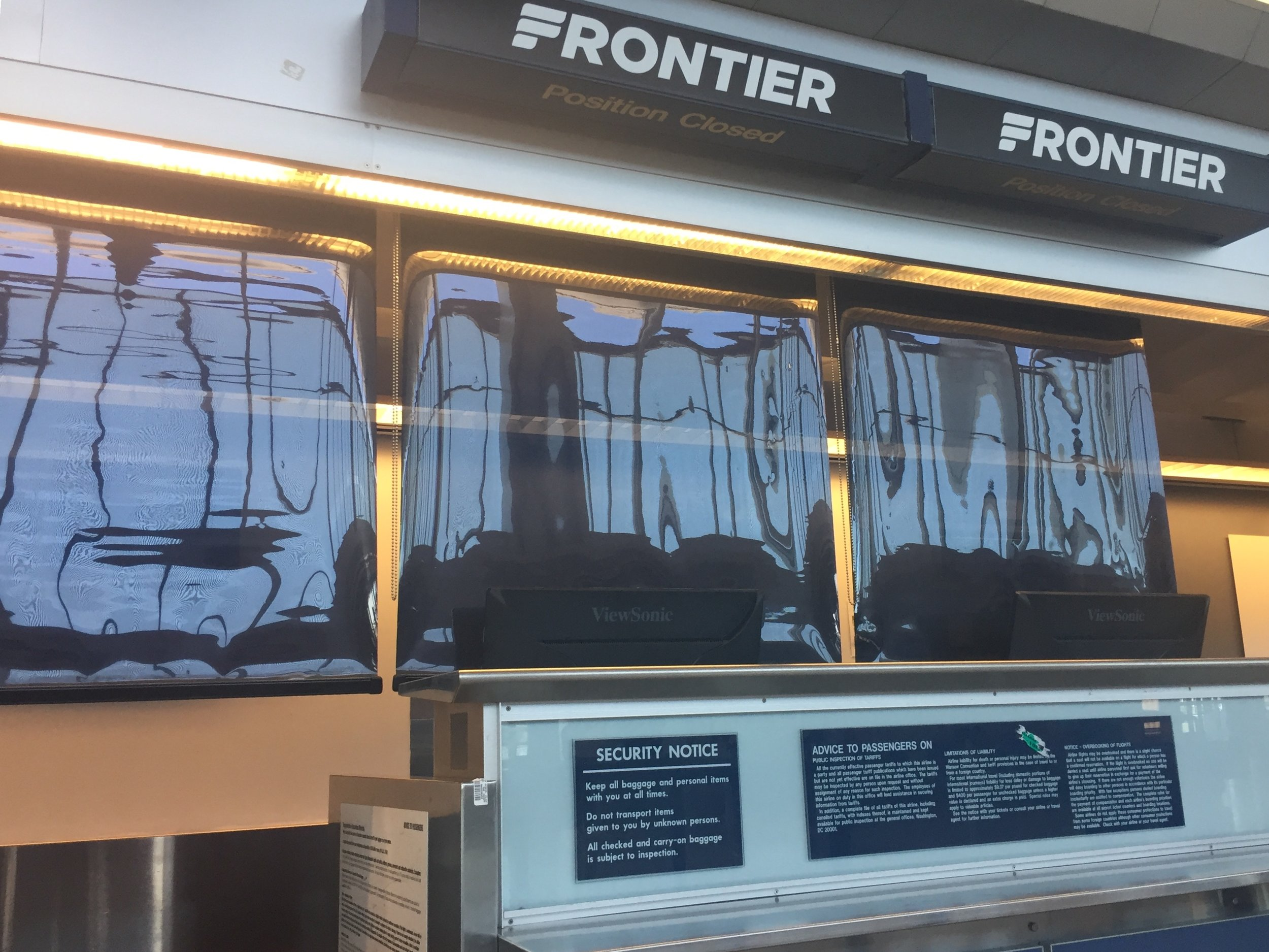 Frontier Airlines Review | Emily Malkowski | Travel Blogger based in Buffalo, NY