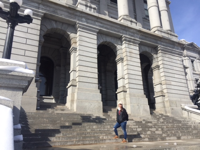 Mile High Steps | Colorado State Capitol Building | Things to do around Capitol Hill Denver | Emily Malkowski