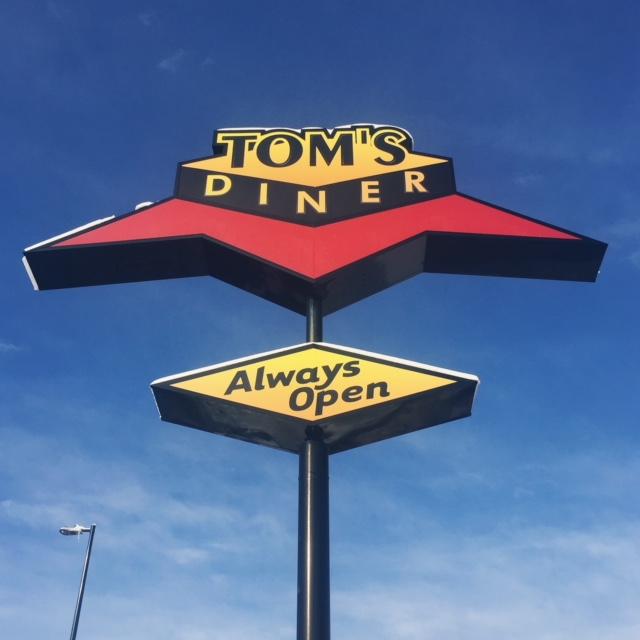 Tom's Diner | Things to do around Capitol Hill Denver | Ember Hostel | Emily Malkowski