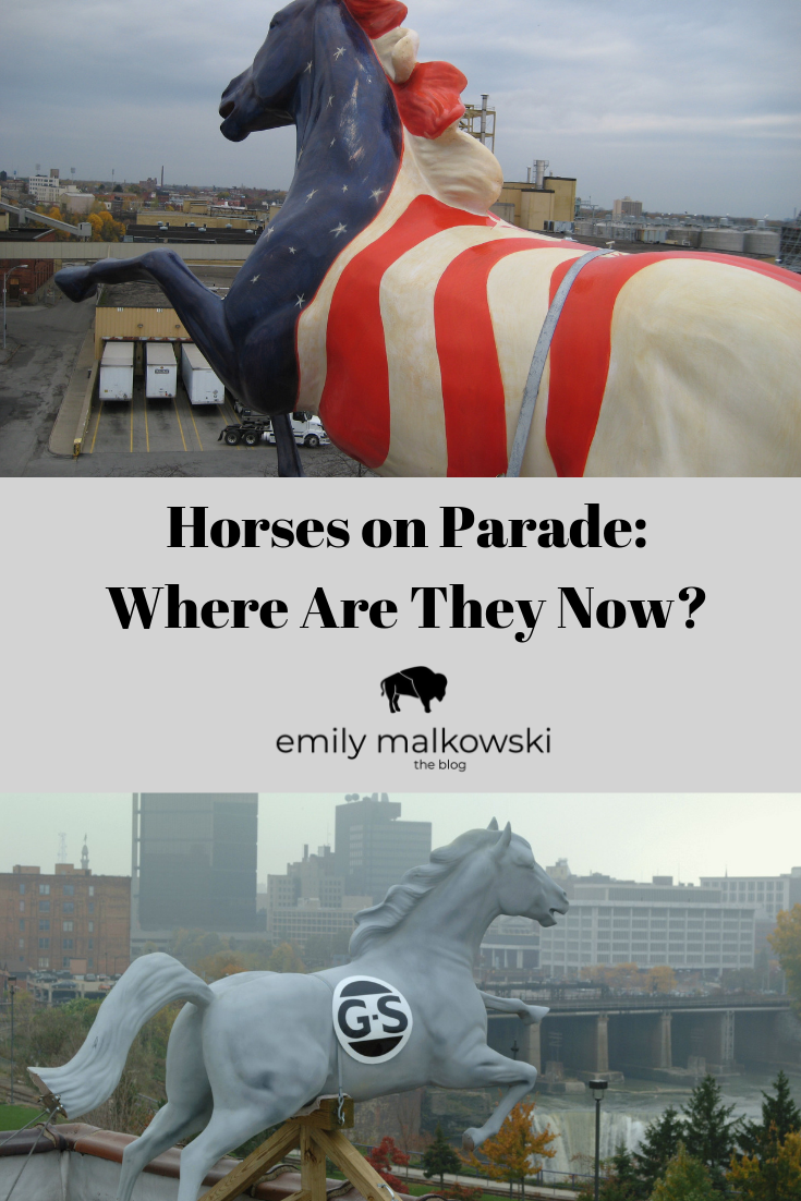 Horses on Parade in Rochester, NY
