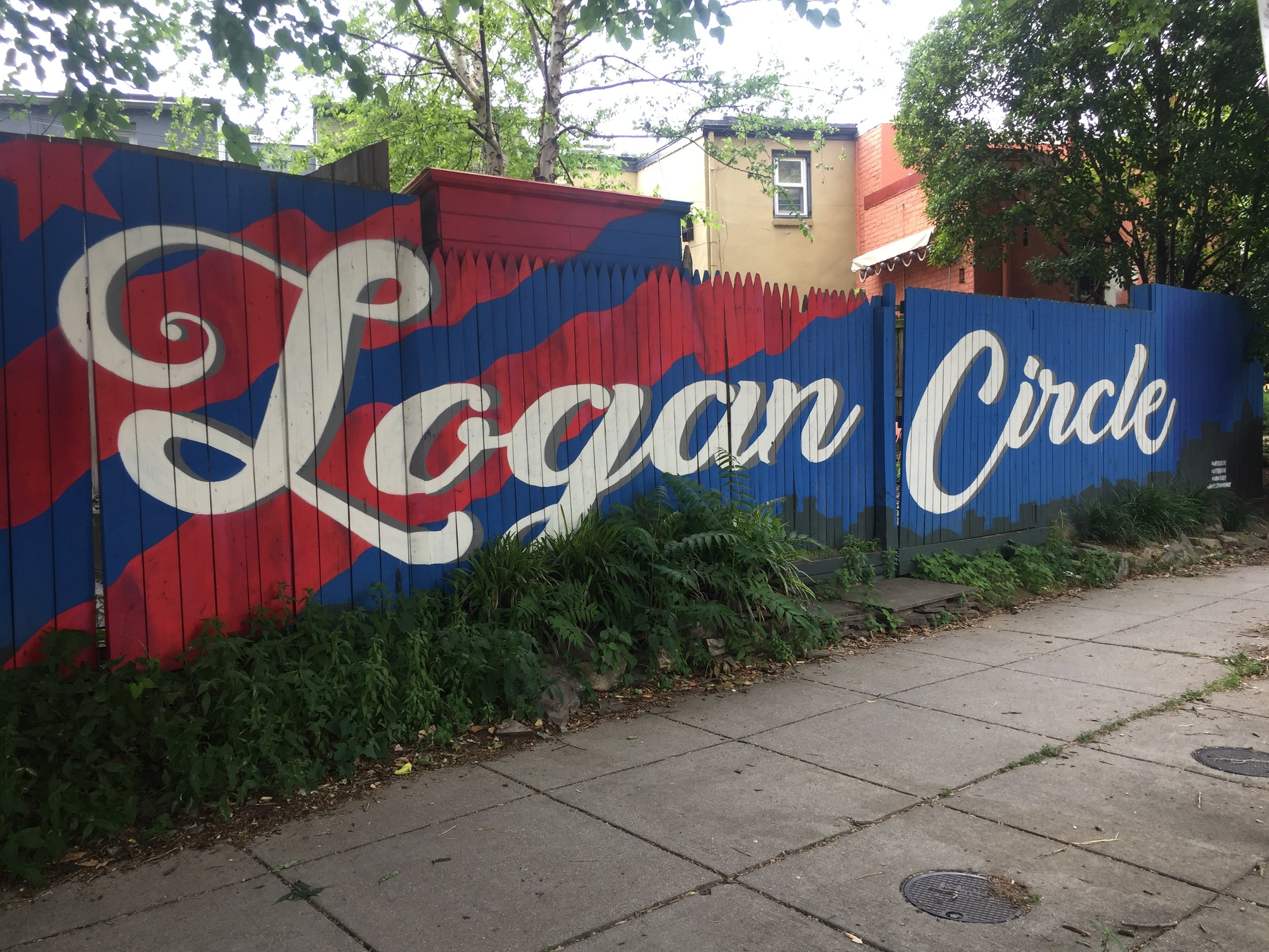 Logan Circle Fence Mural | Washington, D.C.
