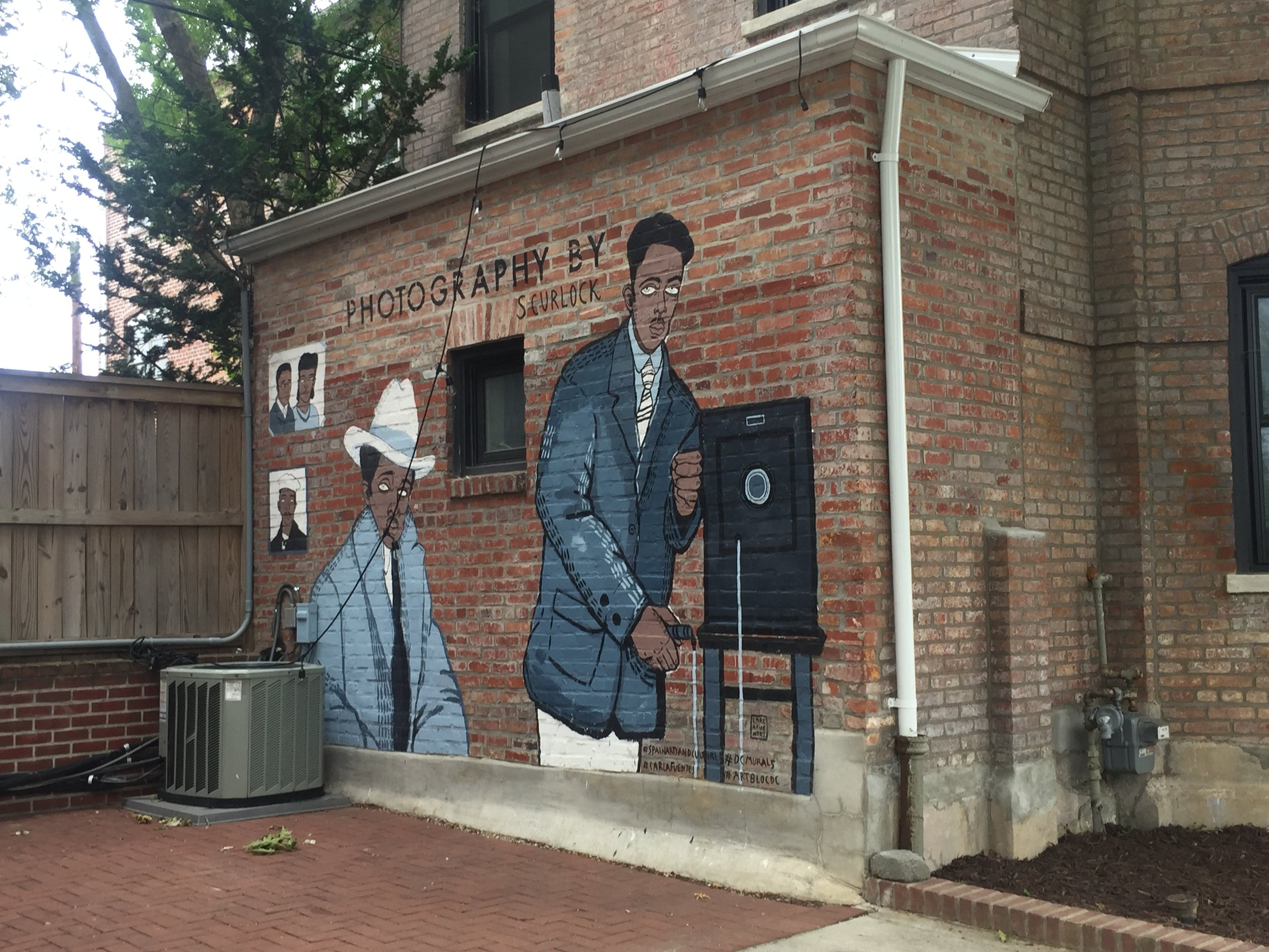 Scurlock Photography Mural | Washington D.C. 1800 ½ 11th St. NW