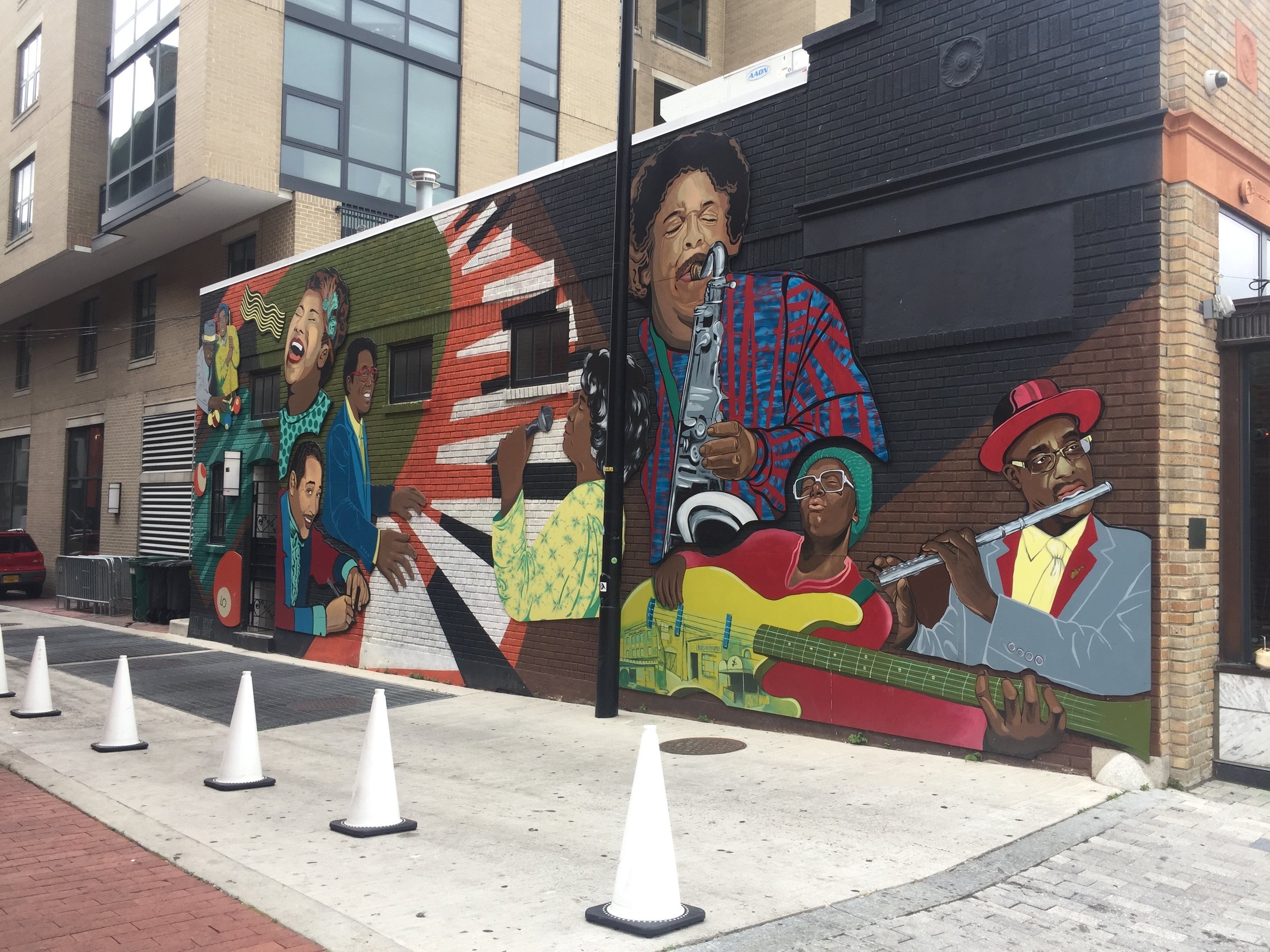 Washington D.C. Jazz Heroes Mural | 624 T St NW