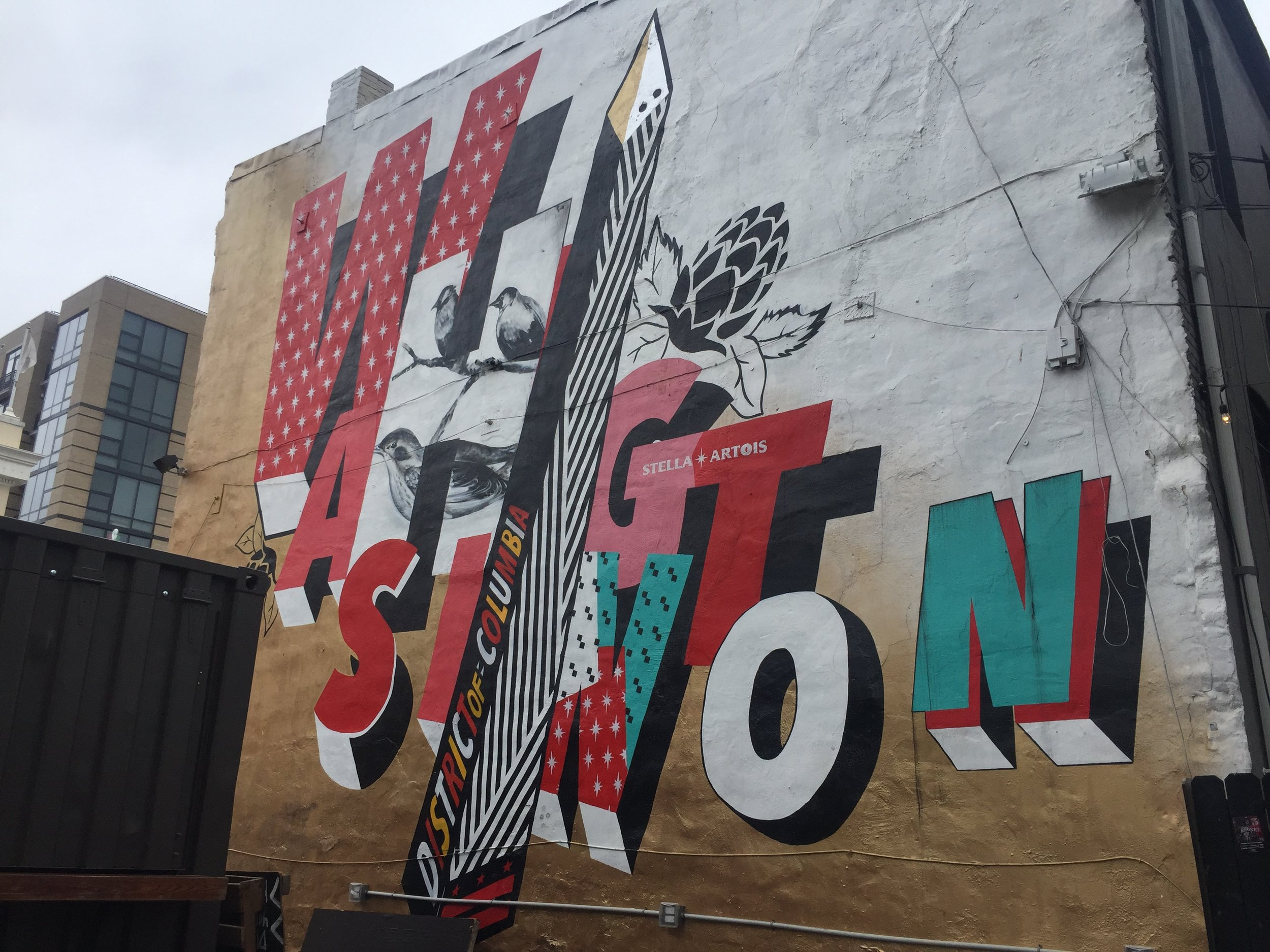 Stella Artois Mural in Washington D.C. | 631 T ST NW