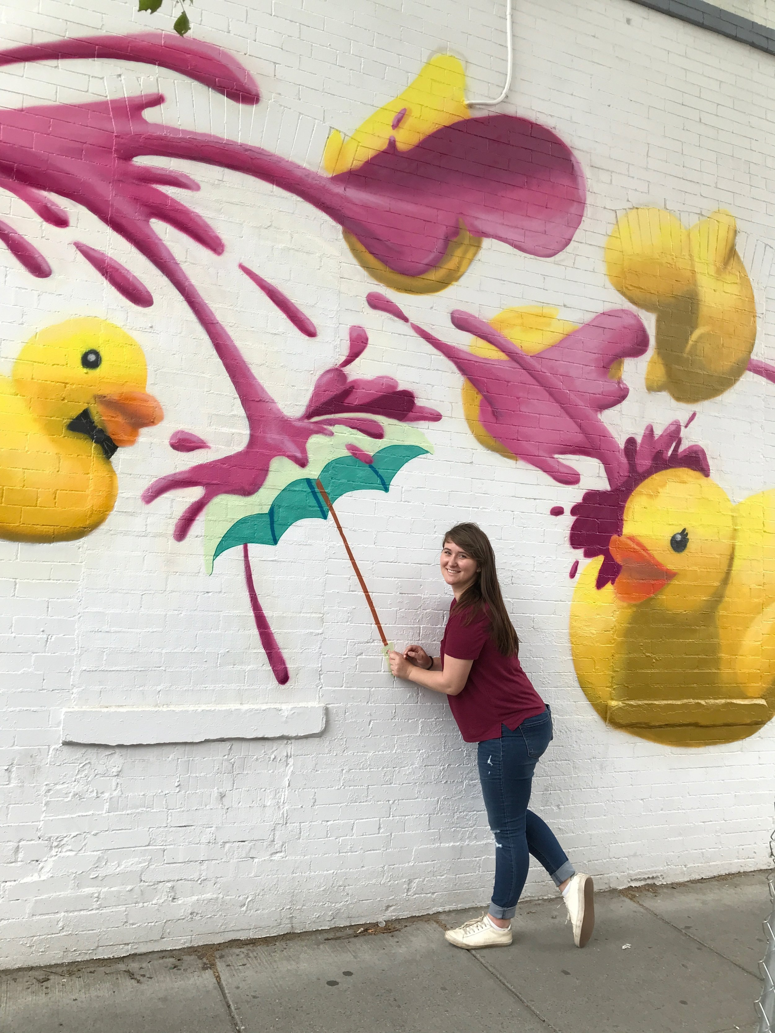 Rubber Ducky Mural in Washington, D.C. | Best Instagram Murals