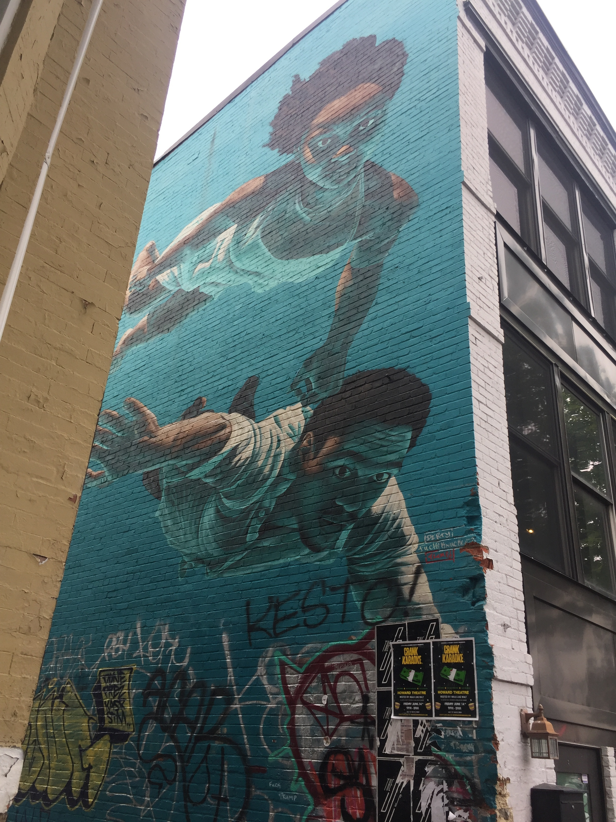 Chasing Dreams Water Mural in Washington, D.C. | Best Instagram Murals