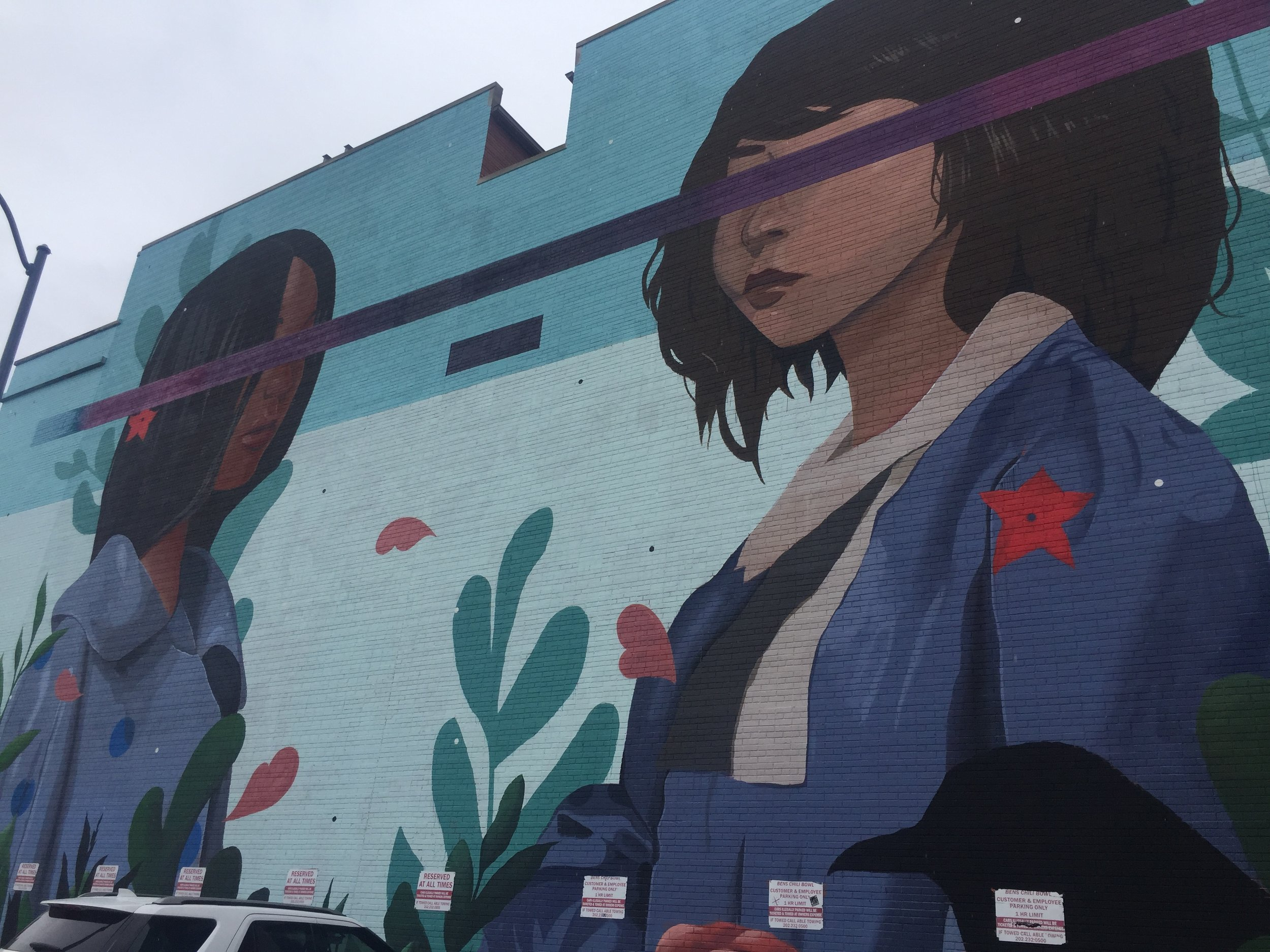Kindred Mural in Washington, D.C. | Best Instagram Murals