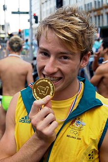 """- """"I've only read three books, but this one was definitely the best."""" - Matthew Mitcham (Olympic Gold Medallist)"""
