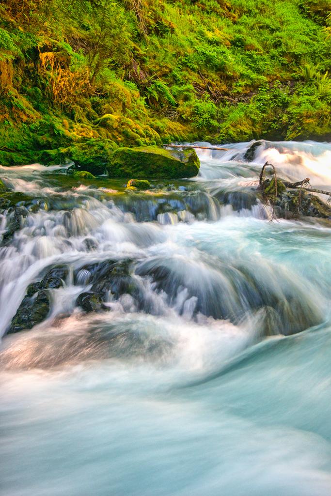 Watercolor Falls
