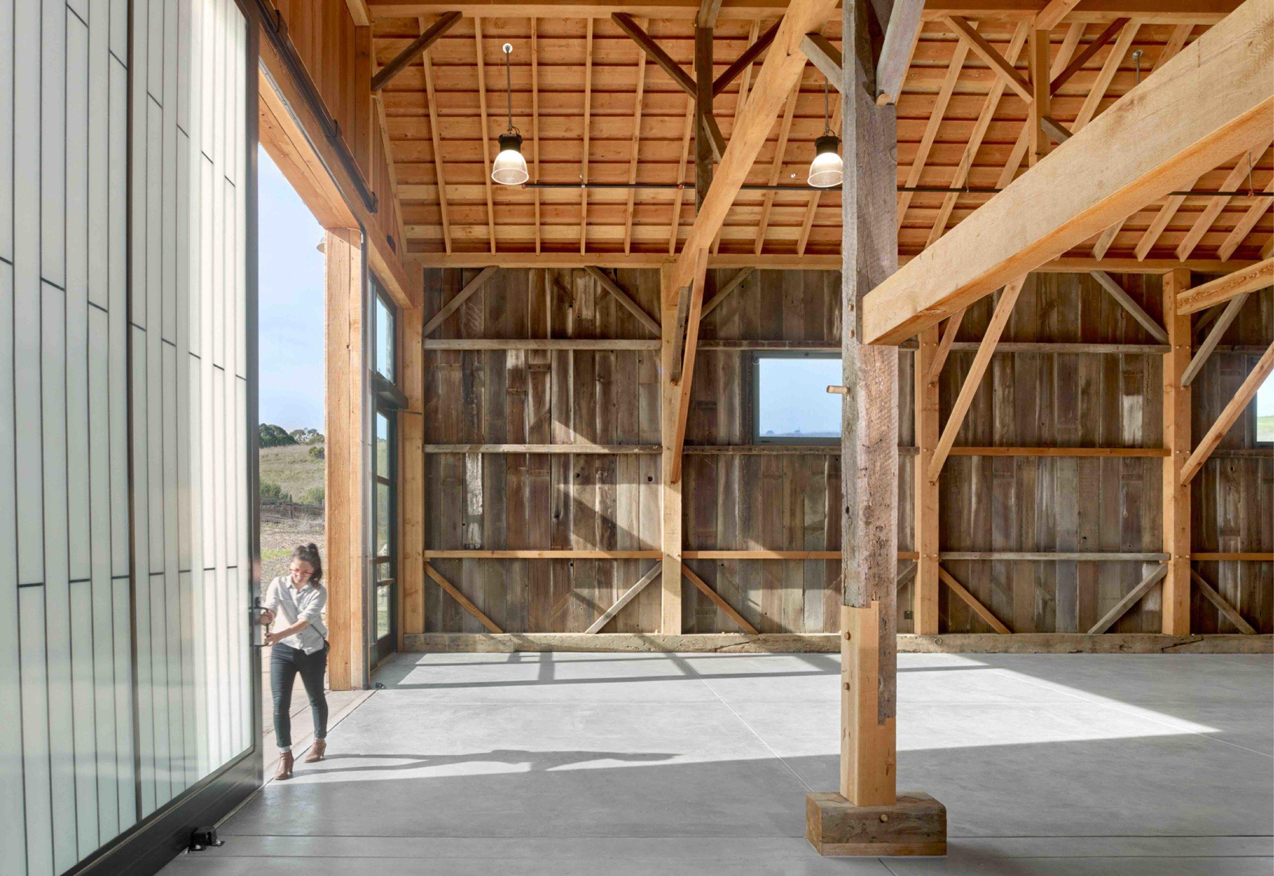 UC Santa Cruz Hay Barn, CA