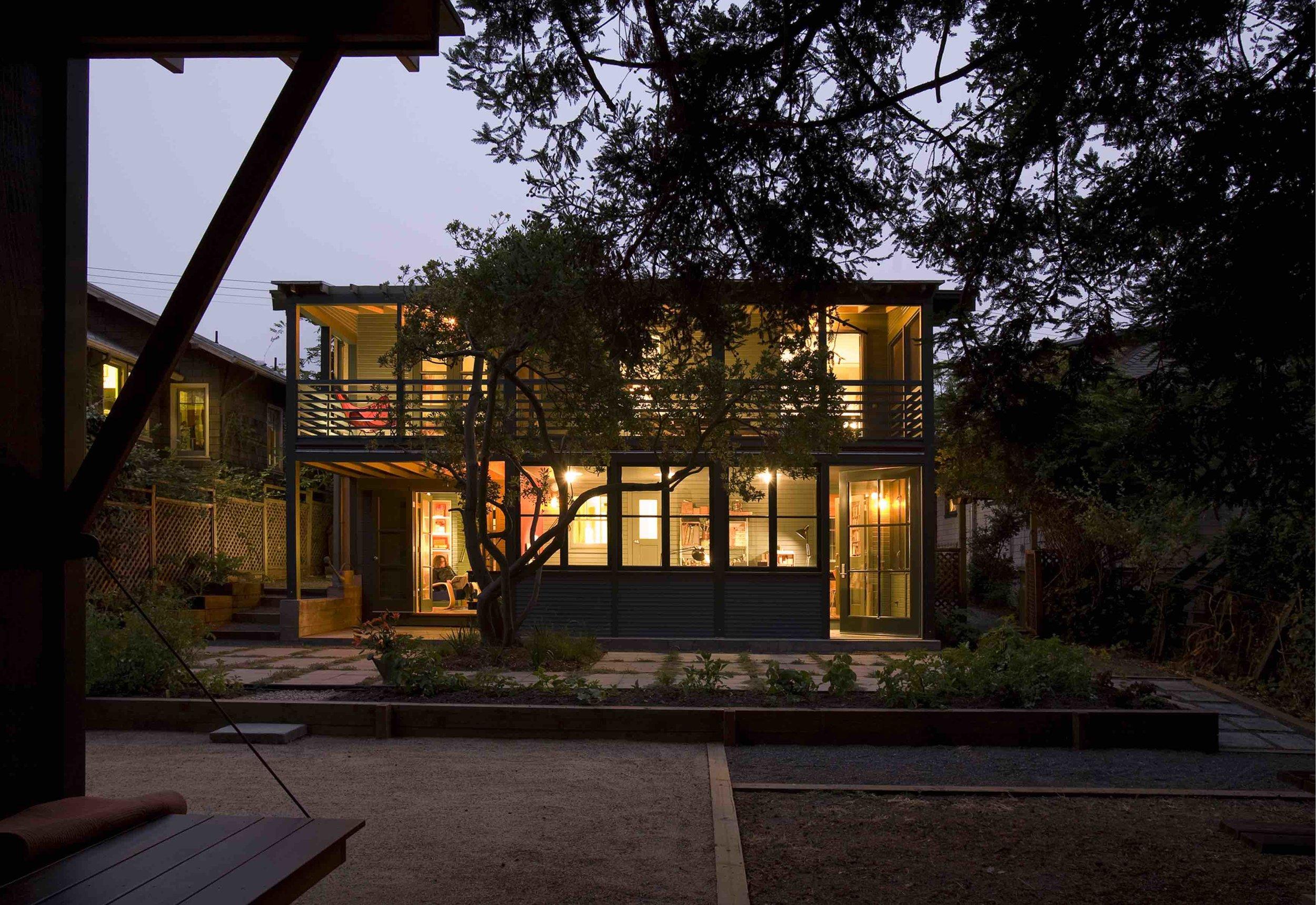House on Cedar Street, CA