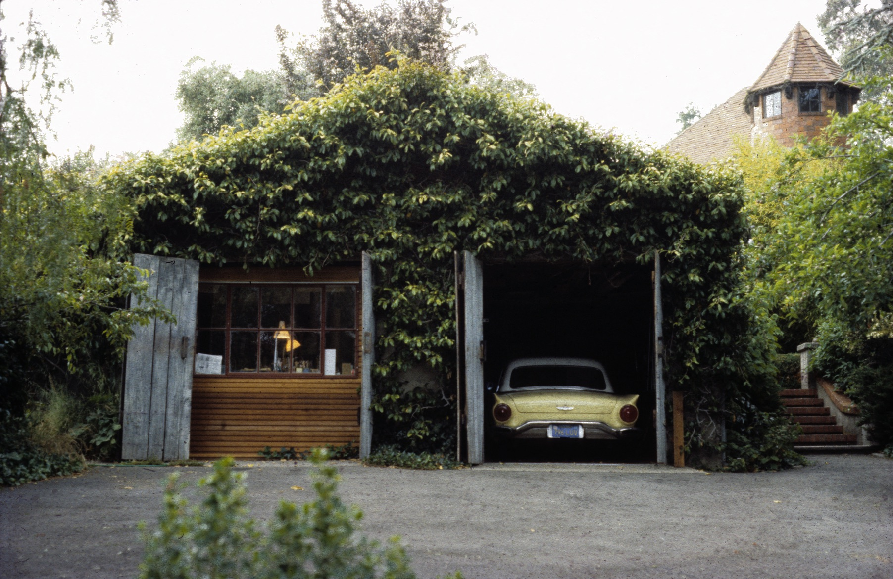 La Verada, the garage where I lived and worked, and the first Fernau + Hartman office, 1982