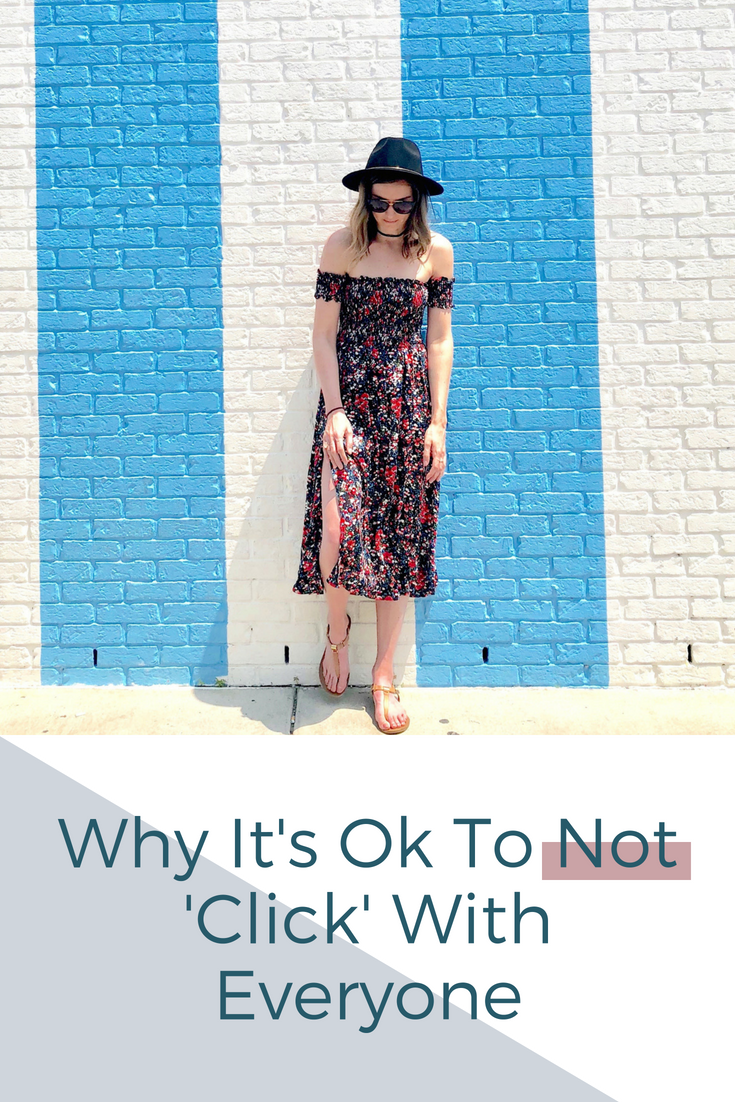 Mallory Musante :: Why It's Ok To Not 'Click' With Everyone