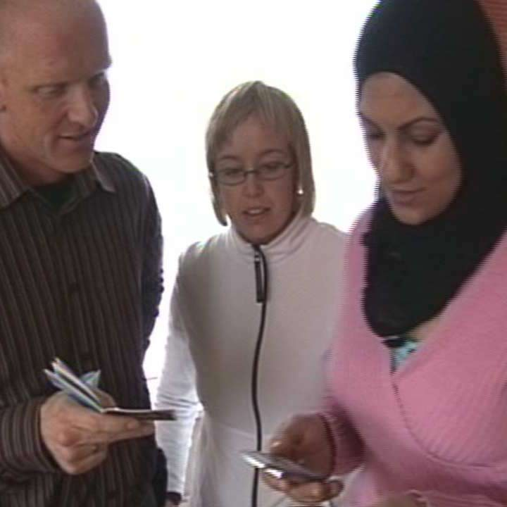 Desert to Ice (2009)    Desert to Ice  is a documentary by Canadian filmmaker Brandy Yanchyk about a handful of Palestinians who have escaped the sands of Iraq for a new life in Iceland.   Learn More