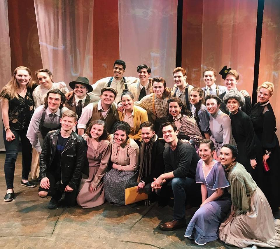 Tuck Everlasting! - The cast of NYU Tisch- New Studio on Broadway's Tuck Everlasting and director Catie Davis welcomed original Broadway cast members Andrew Keenan-Bolger, Mike Wartella, and Robert Lenzi to their show!