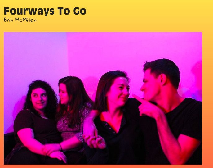 Fourways to go - Come see me in Fourways To Go, a brand new musical happening in early February at Dixon Place in NYC! Click here for more information/tickets!