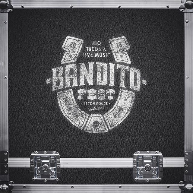 #FBF to the @banditofestival branding we created earlier this year - BBQ, Tacos, Live Music, and more! Oh yeah, and it's tomorrow! . . . . . #banditofest #geauxdowntownbr #logo #logos #branding #brandingdesign #badgedesign #typography #typelockup #type #design #graphicdesign #designer #graphicdesigner #ashcowork