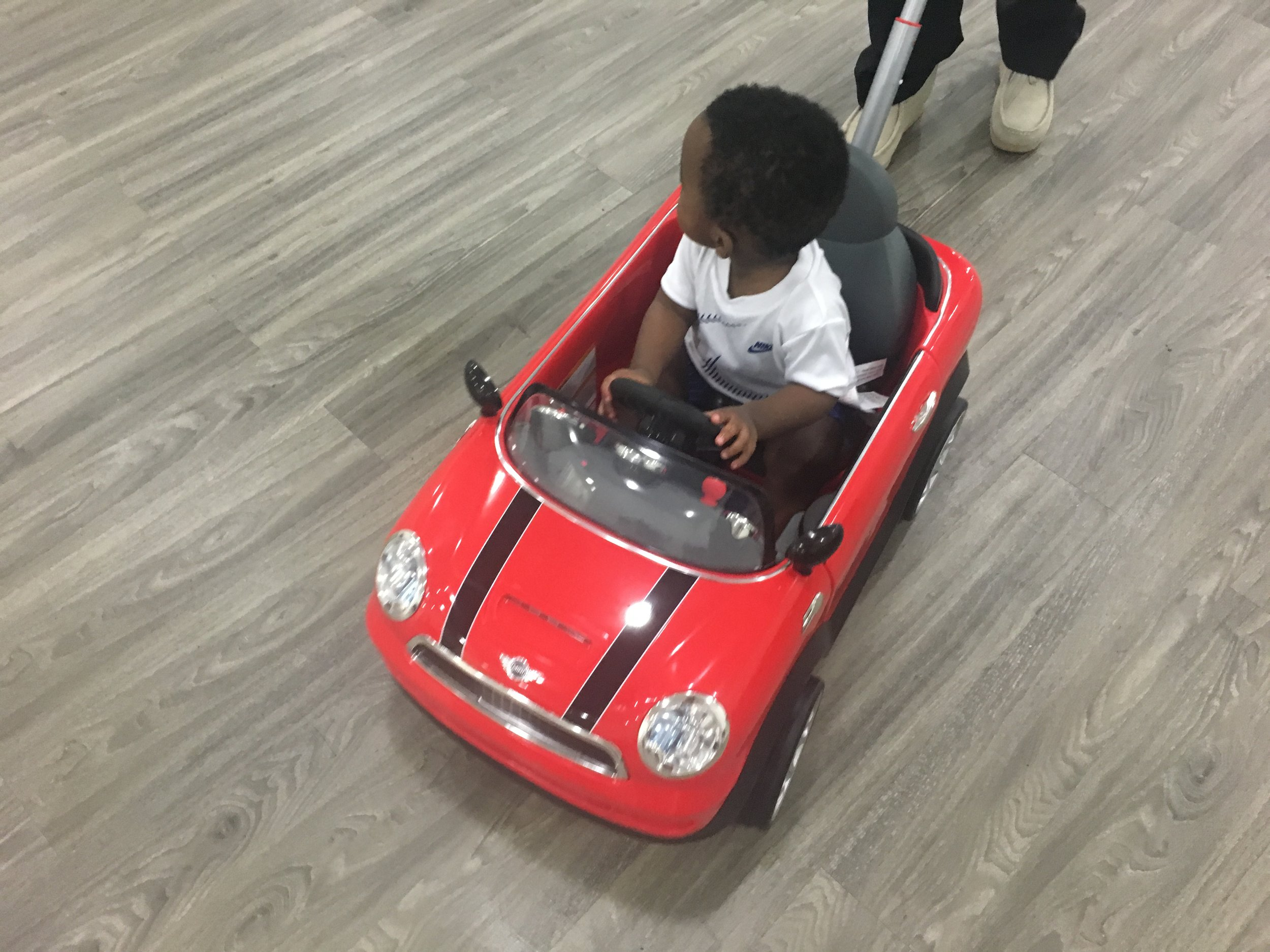 leaving the party in the new whip! lol