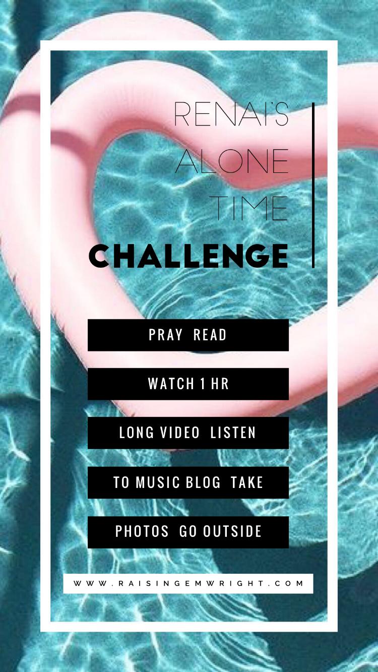 My summer Alone-Time Challenge List!