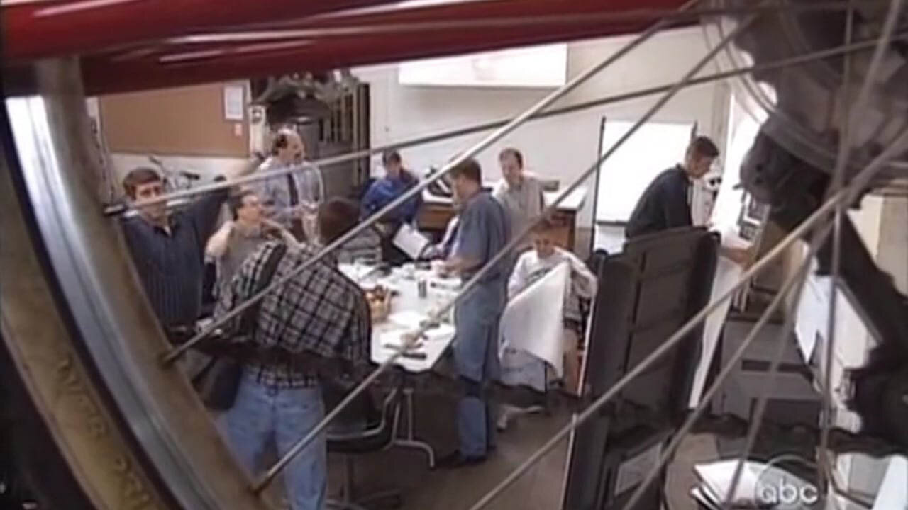 A screenshot from the ABC Nightline IDEO segment from 1999
