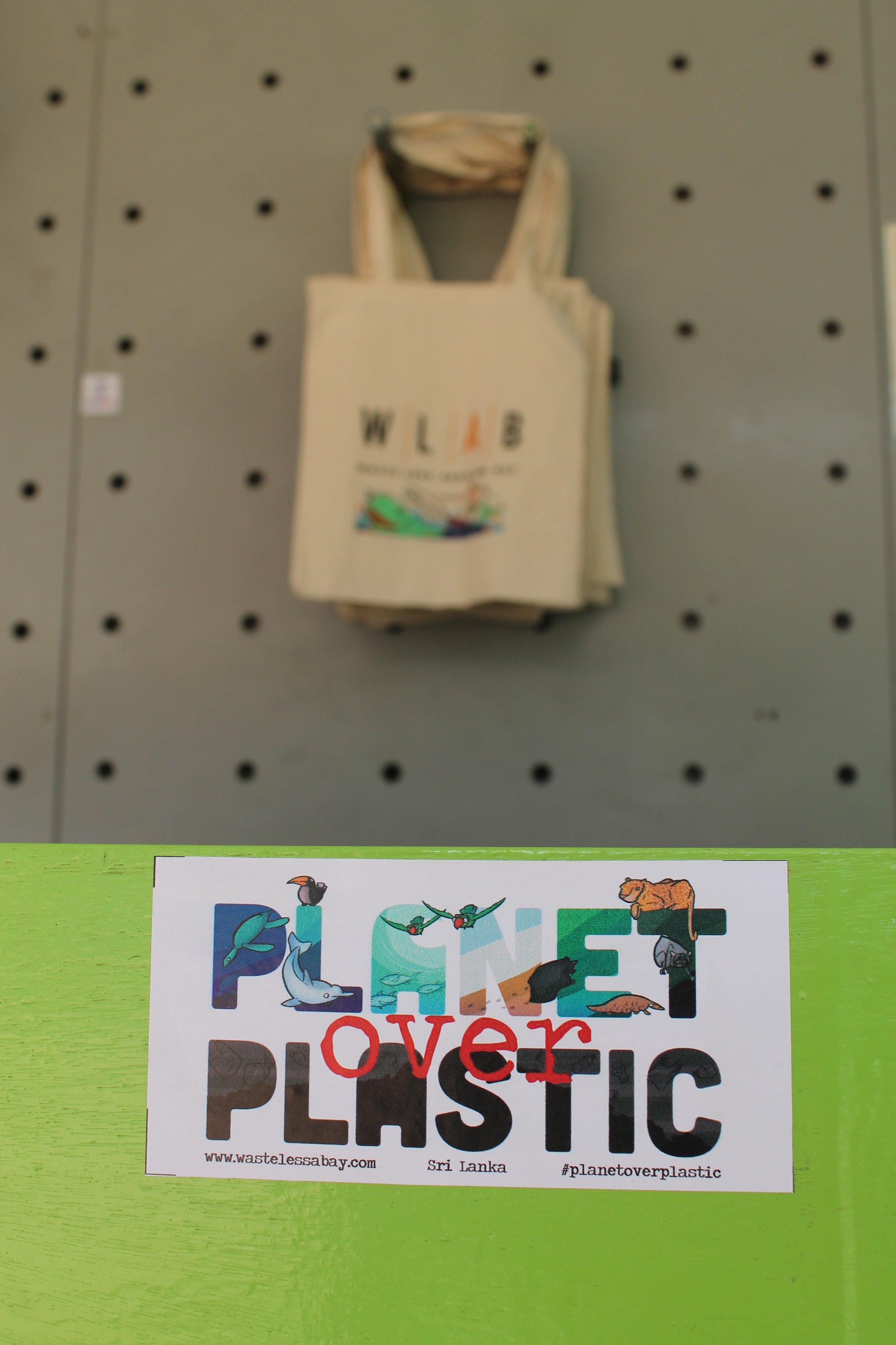 Planet over Plastic sticker available at our center. Big Thanks to Zev for donating the artwork. Check out his work  here .