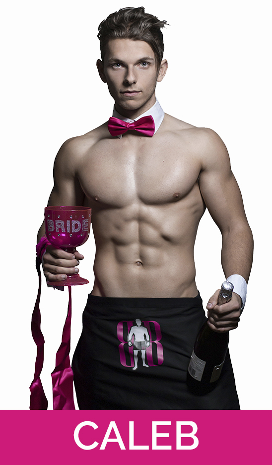 topless waiter and male nude life drawing model stripper in hamilton